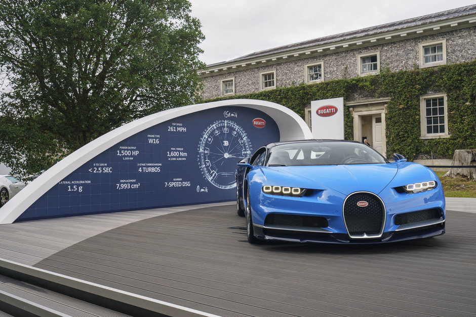 Bugatti la Goodwood