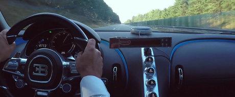 Bugatti ne arata cat de repede accelereaza noua sa masina de 1.500 CP. VIDEO