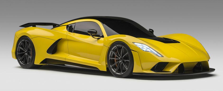 Bugatti nu mai poate face nimic. HENNESSEY a inceput asamblarea primului sasiu de carbon pentru noul Venom F5