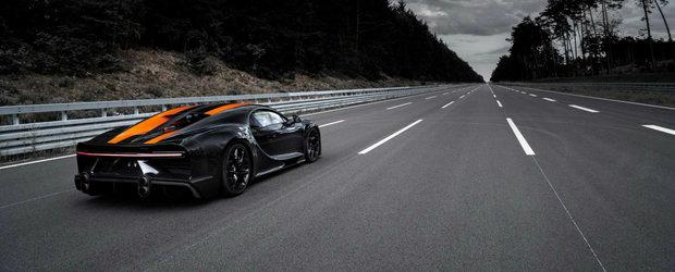 Bugatti se lauda ca Chiron poate atinge 515 km/h pe drumul unde Koenigsegg a devenit cea mai rapida masina din lume