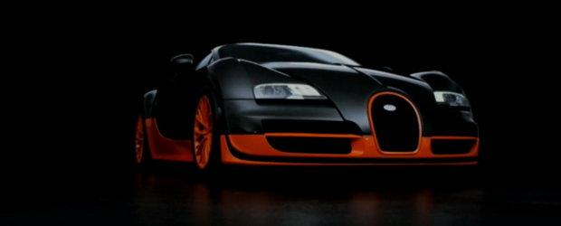 Bugatti Veyron Supersport - Primul video oficial!!!