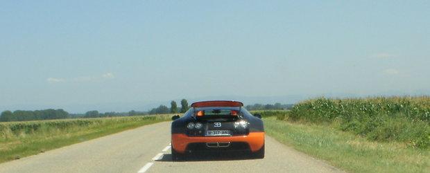 Bugatti Veyron Supersport World Record Edition - Primele poze live!