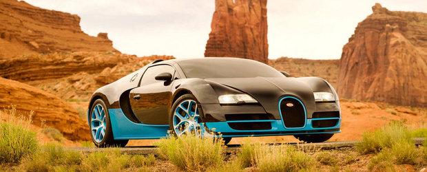Bugatti Vitesse primeste un rol in Transformers 4. La fel si noul Corvette Stingray!