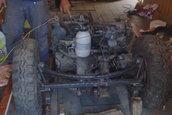 Buggy cu motor de Tico: o creatie facuta de la 0 in Brasov
