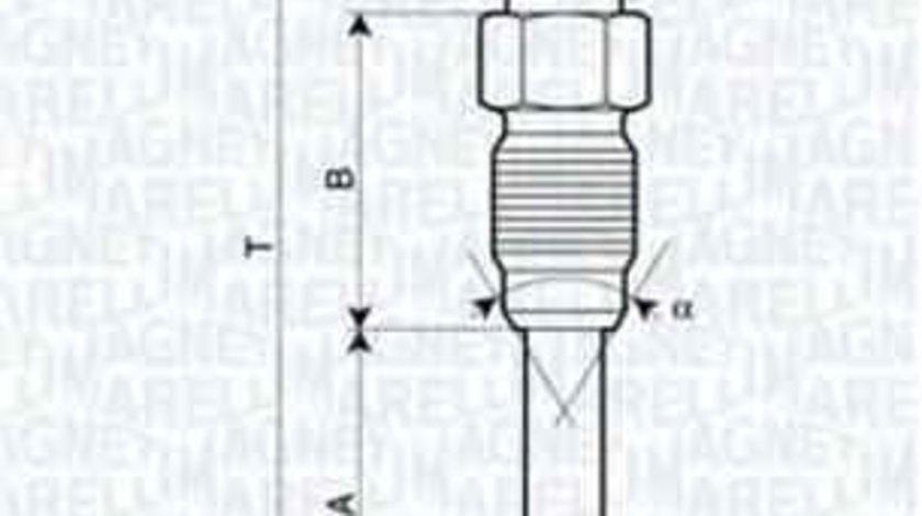 Bujie incandescenta MERCEDES-BENZ COUPE (C123) Producator BERU GN9840100226253