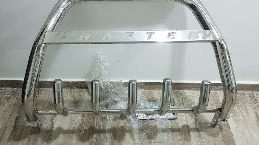Bullbar inox cromat Volkswagen Crafter 2006 - 2014