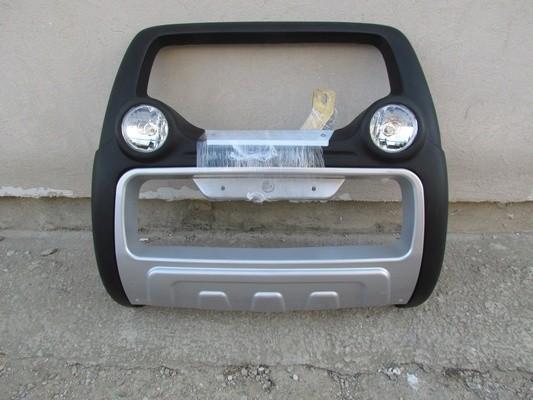 Bullbar inox cu proiectoare compatibil ISUZU D-MAX