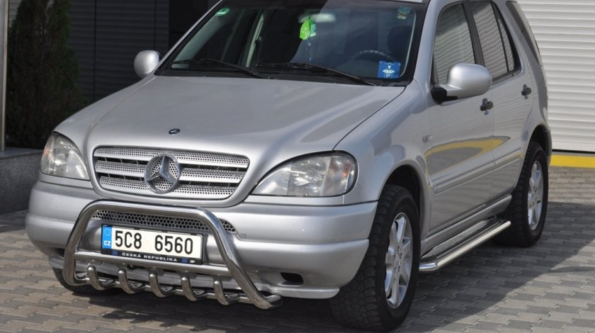 Bullbar inox Mercedes Ml 1996-2006