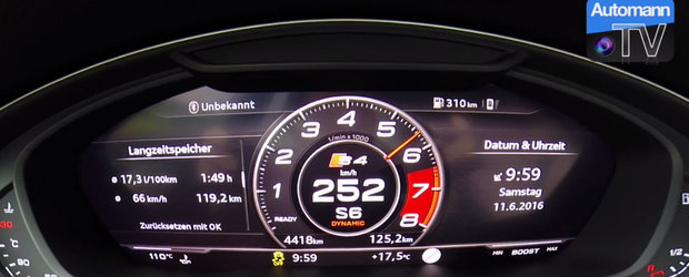 Bun la carat si... accelerat. Uite cat de repede sprinteaza un break turbo de 354 CP!