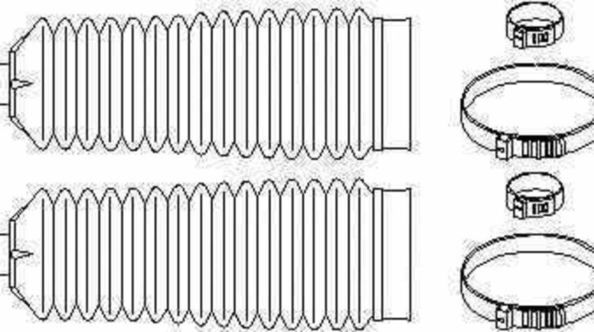 Burduf caseta directie OPEL VECTRA B hatchback 38 TOPRAN 207 523