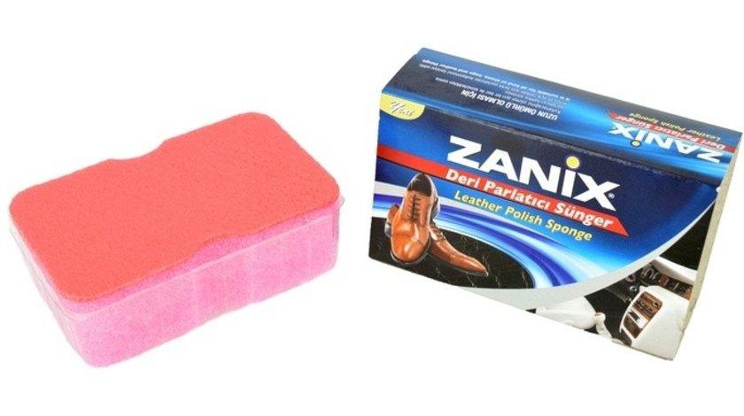Burete siliconic creeat special pentru redarea luciului bordului si a materialelor din plastic sau imitatie piele