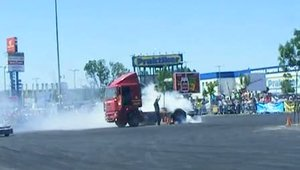 burnout/drift camion