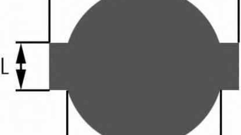 buson rezervor de combustibil MERCEDES-BENZ C-CLASS W202 HELLA 8XY 006 369-001