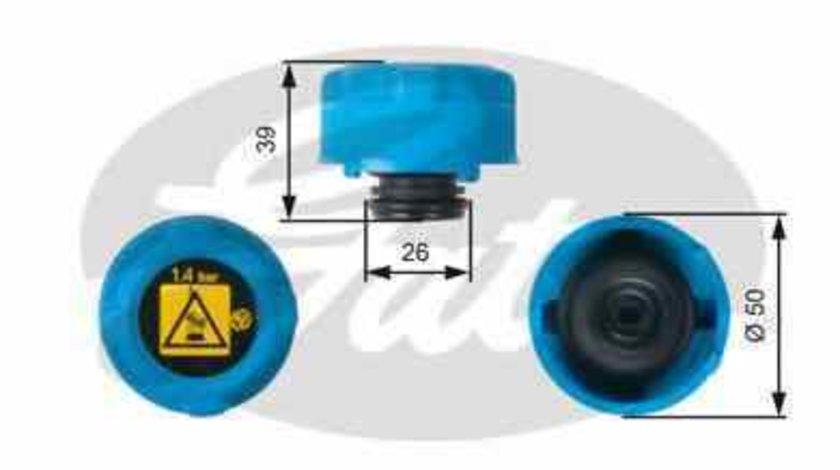Buson vas lichid racire expansiune FORD KA RU8 GATES RC216