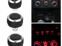 Butoane reglaj clima compatibil Volkswagen Sharan 1 1995-2010 Retrofit Set 3 Buc SSVAC-01