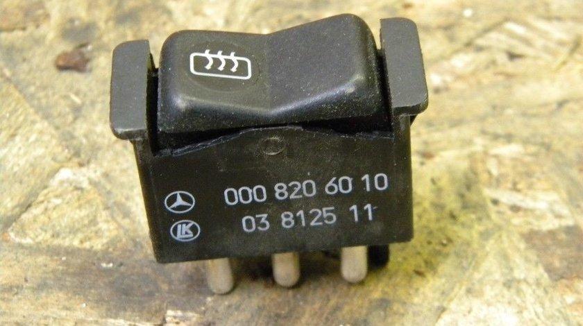 Buton dezaburire Mercedes Benz W201, W124, 190D, R107, 560SL, 190 190E cod 0008206010