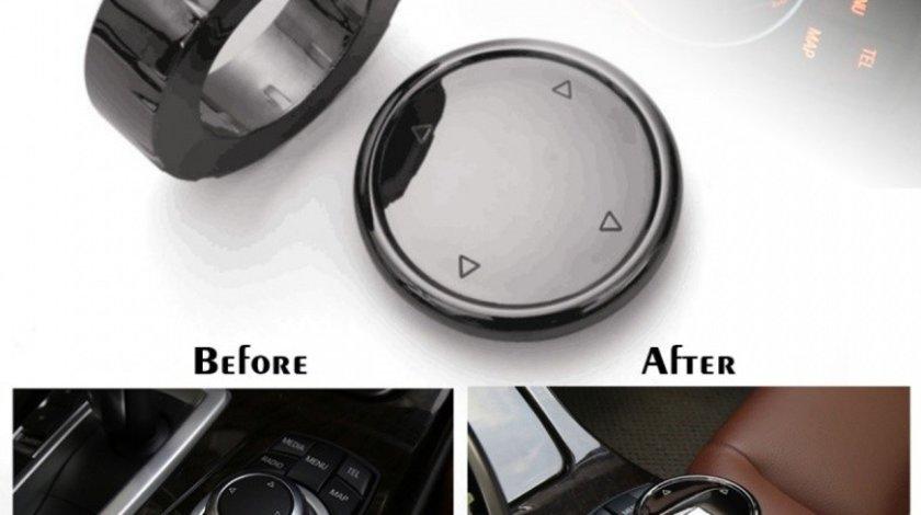 Buton Joystick Multimedia Retrofit Compatibil Bmw Seria 3 F34 2013→ 8015 Ceramic