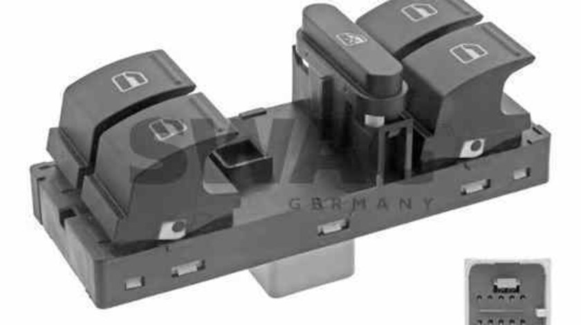 buton macara geam VW GOLF VI 5K1 SWAG 30 93 7489