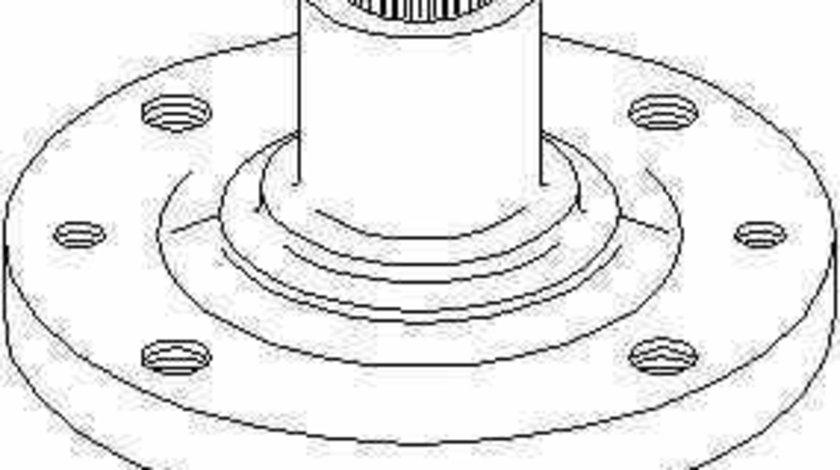 Butuc roata RENAULT CLIO II caroserie SB0/1/2 TOPRAN 700 631