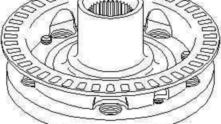 Butuc roata VW NEW BEETLE (9C1, 1C1) TOPRAN 108 950