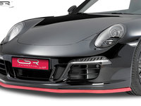Buza prelungire spoiler universal culoare neagra rosie sau Carbon Look SB131 Bara Fata Spate Praguri