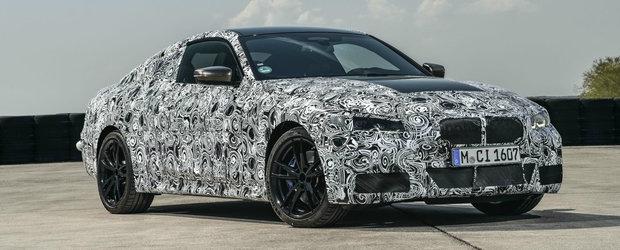Ca sa mai indulceasca asteptarea, BMW publica imagini cu noul Seria 4 din timpul testelor. Cand debuteaza