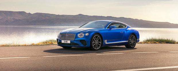 Ca sa stii cat costa cand il vezi pe Dorobanti. Asta este pretul noului Bentley Continental GT in Romania