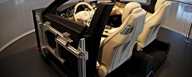 Cabina viitorului C-Class Cabrio, expusa la muzeul Mercedes din Stuttgart