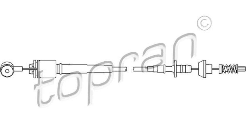 Cablu acceleratie FORD FOCUS kombi DNW Producator TOPRAN 302 775