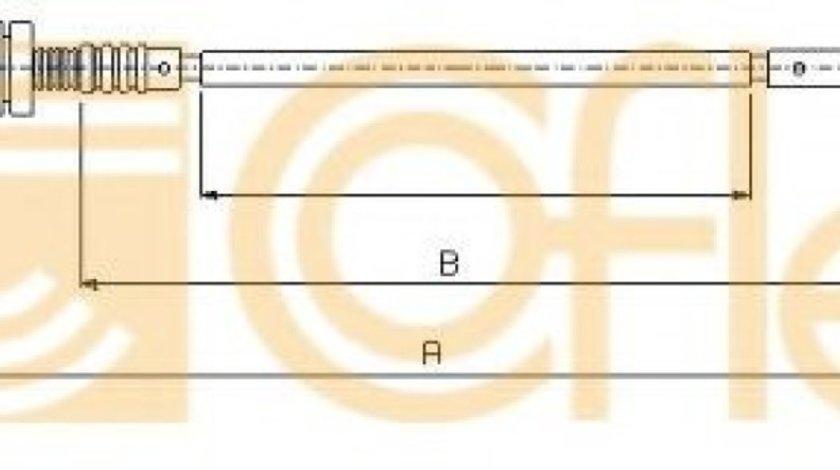 Cablu acceleratie FORD MONDEO II Limuzina (BFP) (1996 - 2000) COFLE 11.0181 - produs NOU
