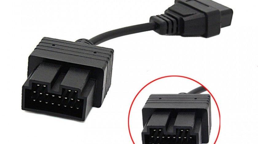 Cablu adaptor 20 Pin la 16 Pin OBD2 pentru Kia