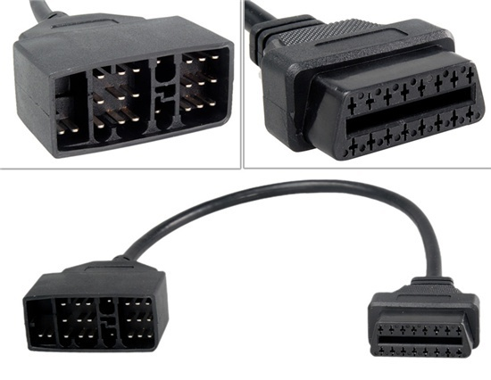 Cablu adaptor 22 Pin la 16 Pin OBD2 pentru Toyota