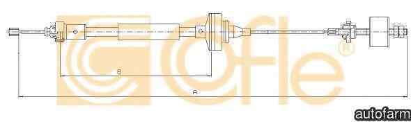 Cablu ambreiaj DACIA LOGAN EXPRESS FS ADRIAUTO AD410180
