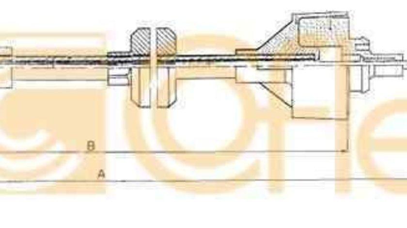 Cablu ambreiaj RENAULT RAPID caroserie (F40_, G40_) ADRIAUTO AD410135