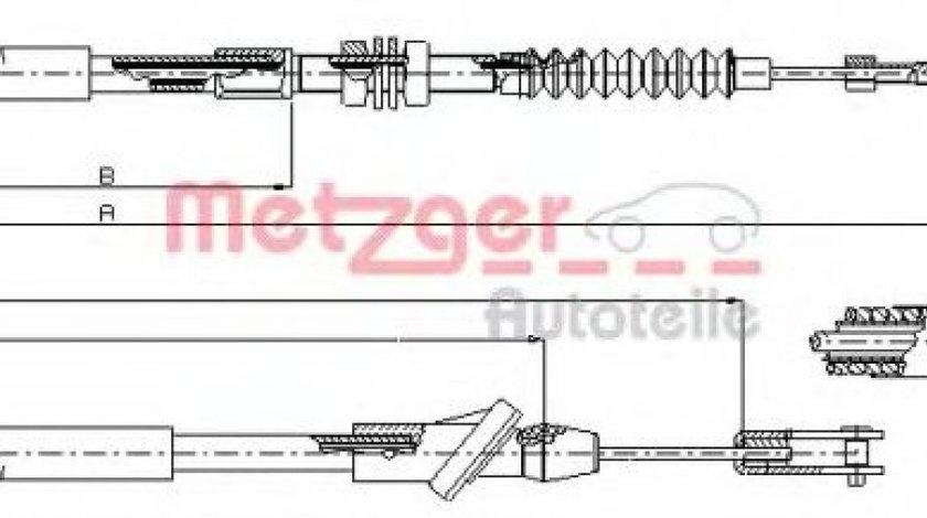 Cablu ambreiaj SUZUKI VITARA Cabrio (ET, TA) (1988 - 2002) METZGER 18.6103 piesa NOUA
