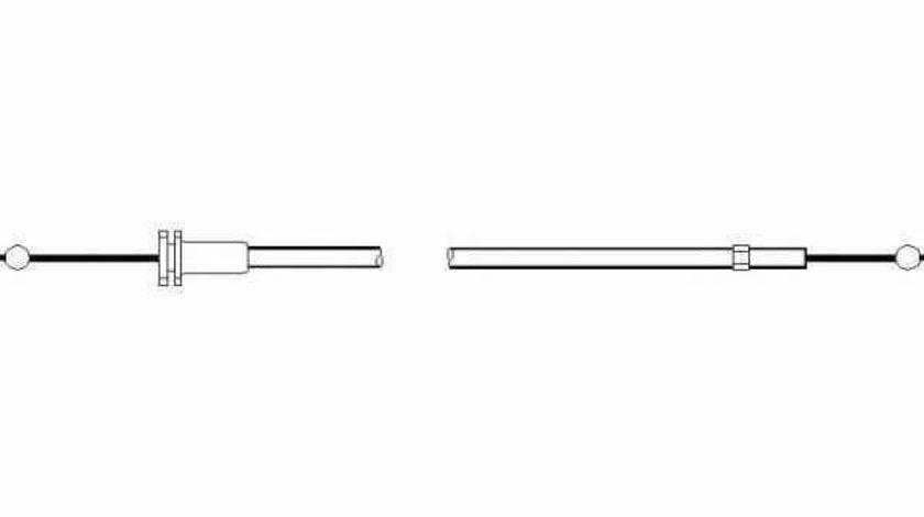 Cablu capota motor SKODA FABIA Praktik TOPRAN 113 424