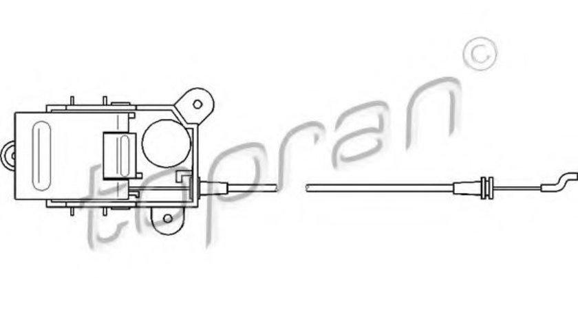 Cablu, deblocare usi VW LT II platou / sasiu (2DC, 2DF, 2DG, 2DL, 2DM) (1996 - 2006) TOPRAN 109 449 piesa NOUA