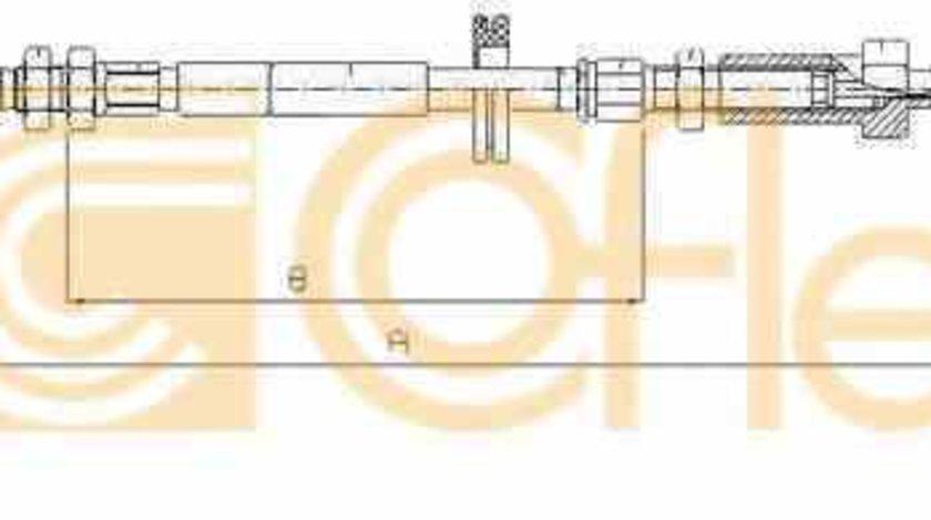 Cablu frana de parcare CITROËN JUMPER platou / sasiu 244 ADRIAUTO AD112071