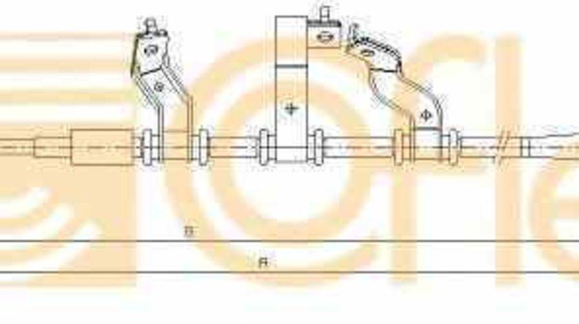 Cablu frana de parcare HYUNDAI TUCSON JM Producator OEM C70558OEM
