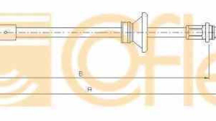 Cablu frana de parcare NISSAN PRIMASTAR caroserie X83 ADRIAUTO AD412591