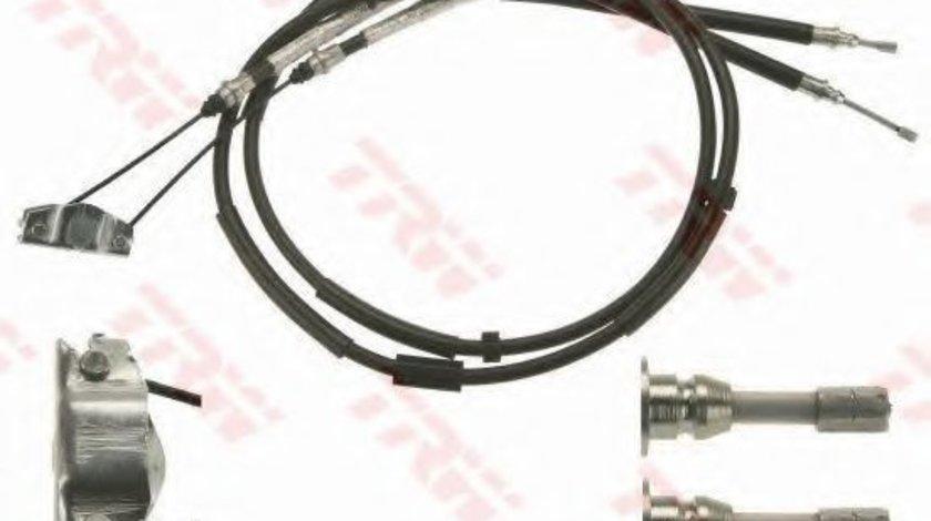 Cablu, frana de parcare OPEL CORSA D (2006 - 2016) TRW GCH432 piesa NOUA