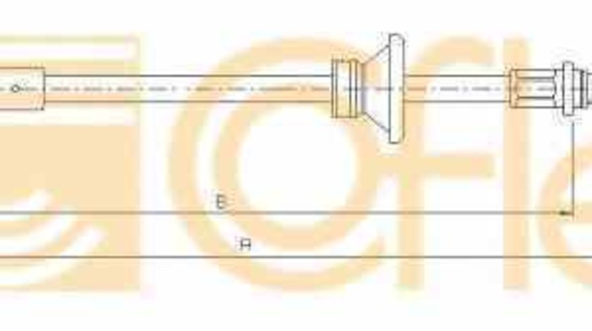 Cablu frana de parcare OPEL VIVARO platou / sasiu E7 ADRIAUTO AD412591
