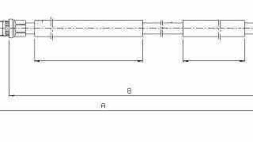 Cablu frana de parcare Producator ADRIAUTO AD352101
