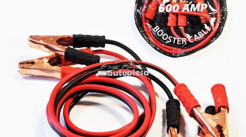 Cabluri pornire 600A 2.5 metri MEGA DRIVE 43697 - produs NOU