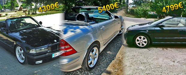 Cabriolete de ocazie: ce masina decapotabila poti sa-ti cumperi cu maxim 5400 de Euro?