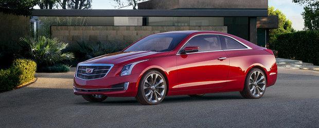 Cadillac ATS Coupe: Iata cum arata cel mai nou adversar al BMW-ului Seria 4!