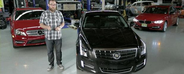 Cadillac ATS invita din nou la dans BMW-ul Seria 3, provoaca la duel si ultimul C-Class