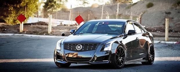 Cadillac ATS, tunat de D3