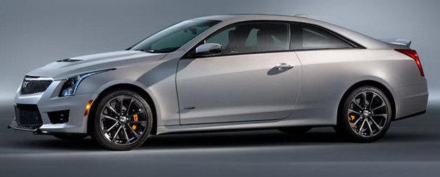 Cadillac ATS-V Coupe: Primele imagini cu rivalul noului BMW M4!