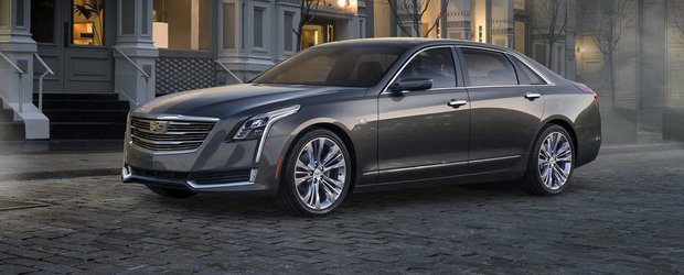 Cadillac CT6: Tot ce trebuie sa stii despre noul rival al Mercedes-ului S-Class